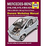 Haynes Mercedes-Benz A-Class (98-04) Manual