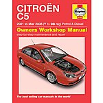image of Haynes Citroen C5 (01 to Mar 08) Manual