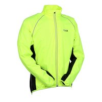 Ridge Water Resistant Cycling Jacket - Fluorescent Yellow, Medium
