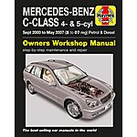 image of Haynes Mercedes Benz C-Class (Sept 00 to May 07) Manual