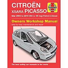 image of Haynes Citroen Xsara Picasso (Mar 04 to 08) Manual