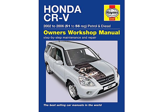 Haynes Honda CR-V (02 - 06) Manual