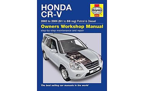 image of Haynes Honda CR-V (02 - 06) Manual
