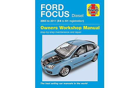 image of Haynes Ford Focus Diesel (05-09) Manual