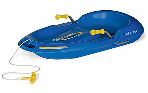 image of Rolly Toys Snow Max Sledge - Blue