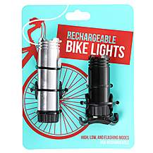 image of Rechargeable Bike Light Set