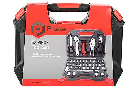 image of Phaze 52 Piece Mechanic Tool Set
