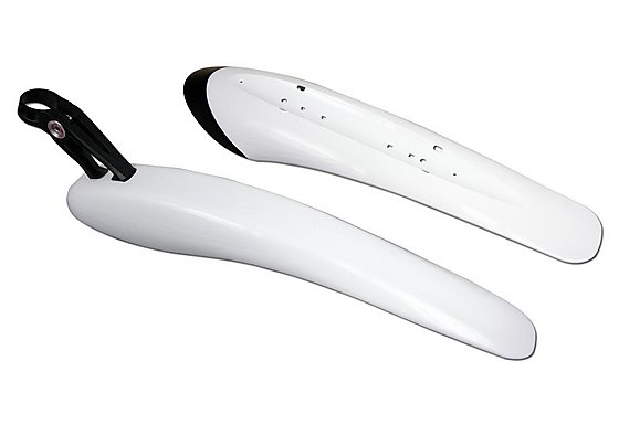 Crud Race Pac Bike Mudguard Set - White
