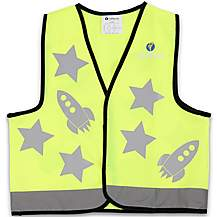 image of LittleLife Reflective Safety Vest - Yellow