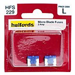image of Halfords Micro Blade Fuses 3 Amp