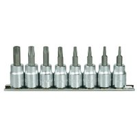 Halfords Advanced Professional 8 Piece Star Bit Rail 3/8""