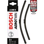 image of Bosch A298S Wiper Blades - Front Pair