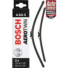 image of Bosch A221S Wiper Blades - Front Pair