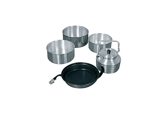 Halfords Complete Cookset & Kettle
