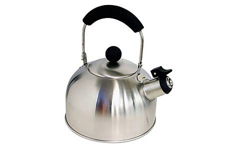 image of Halfords Stainless Steel Whistling Kettle