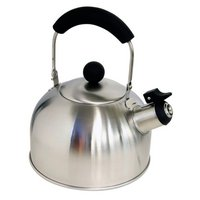 Halfords Stainless Steel Whistling Kettle