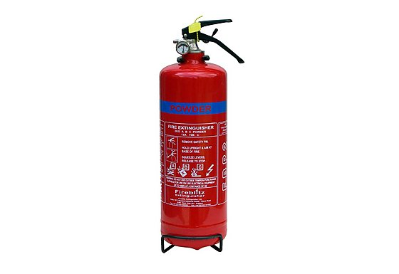 Fireblitz FBP2 2Kg ABC Dry Powder Fire Extinguisher