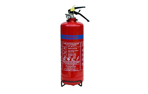 image of Fireblitz FBP2 2Kg ABC Dry Powder Fire Extinguisher