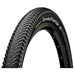 "image of Continental Double Fighter III Bike Tyre - 26"" x 1.9"""