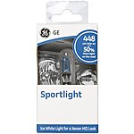 image of GE 448 H1 Sportlight +50 Brighter Ice White Car Bulb x 1
