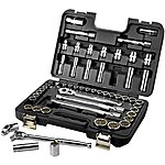 image of Halfords Advanced 55 Piece Socket Set 1/2""