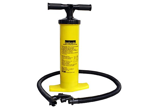 Halfords Double Action Hand Pump