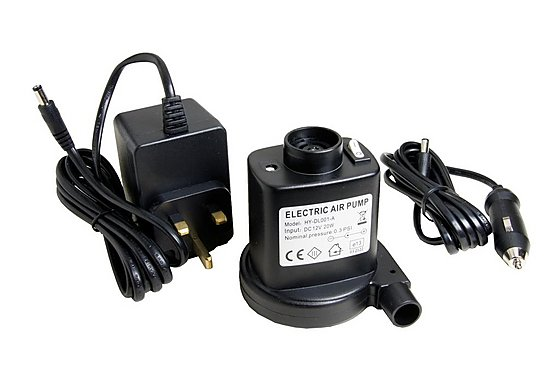Halfords Mains & 12v Electric Pump