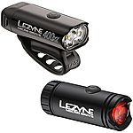 image of Lezyne Micro Drive Bike Light Set - Black