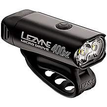 image of Lezyne Micro Drive 400 XL Front Bike Light - Black