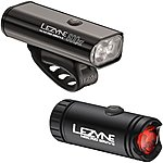 image of Lezyne Macro Drive 600XL Front Light & Micro Drive Rear Light Set