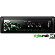 image of Pioneer MVH-180UBG Digital Car Stereo