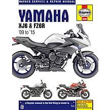 image of Haynes Yamaha XJ6 & FZ6R Motorcycle Manual