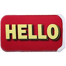Halfords Reversible Carry Case - Hello