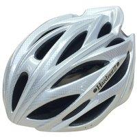 HardnutZ Hi Vis Bike Helmet - 54-61cm, Silver