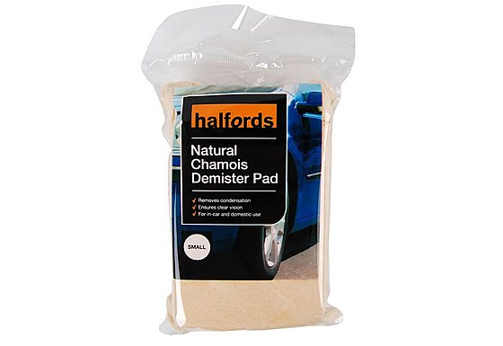 Halfords Natural Demister Pad Small