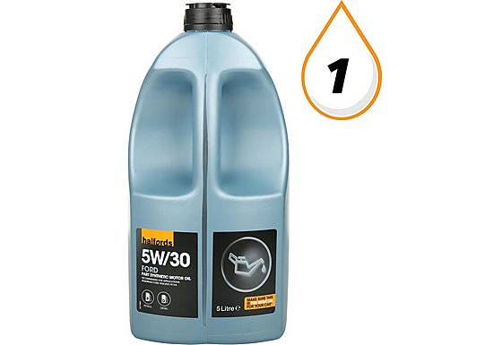 Halfords 5W30 Part Synthetic Ford Oil 5L