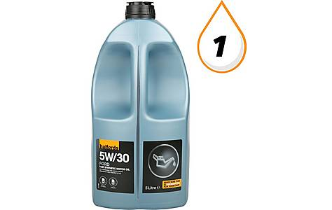 image of Halfords 5W30 Part Synthetic Ford Oil 5L