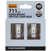 Halfords 711 H11 LED Fog Lights