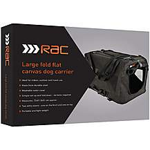 image of RAC Flat Canvas Dog Carrier