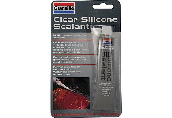 Granville Silicone Sealant Clear 40g