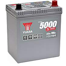 image of Yuasa Silver Car Battery HSB154