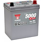image of Yuasa Silver Car Battery HSB154
