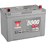 image of Yuasa Silver Car Battery HSB335