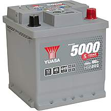 image of Yuasa Silver Car Battery HSB202