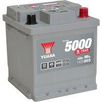 Yuasa Silver Car Battery HSB202