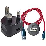 Halfords Android Charging Pack - Red