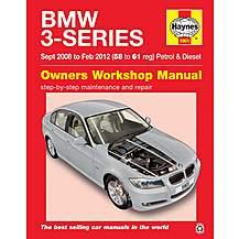 image of Haynes BMW 3 Series Petrol & Diesel (08-12) Manual