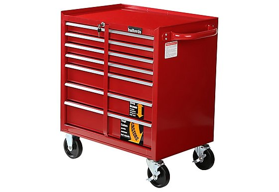 Halfords 7 Drawer Mobile Tool Chest