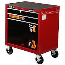 image of Halfords Professional 3 Drawer Ball-Bearing Cabinet