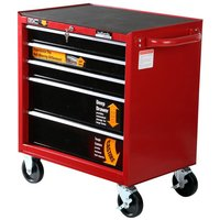 Halfords Professional 5 Drawer Ball-Bearing Cabinet